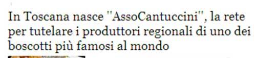 """In Toscana nasce """"AssoCantuccini"""", la rete per tutelare i produttori regionali di uno dei biscotti più famosi al mondo"""