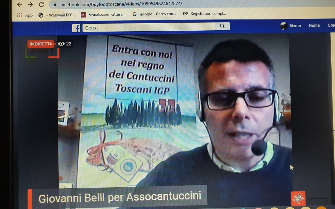 Il Presidente Belli interviene su # RET, storie di resilienza enogastronomica toscana